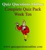 Thumbnail Quiz Questions Online Week Ten Quiz
