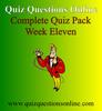 Thumbnail Quiz Questions Online Week Eleven Quiz