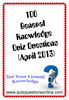 Thumbnail 100 General Knowledge Quiz Questions - April 2013