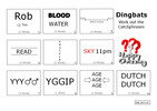Thumbnail Dingbats Catchphrase Quiz (DB-2015-01)