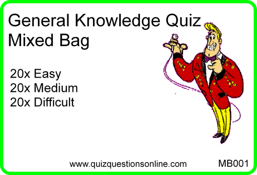 Product picture General Knowledge Quiz (MB-001) Video