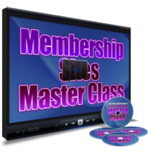 Product picture Membership Sites Master Class Video Tutorial