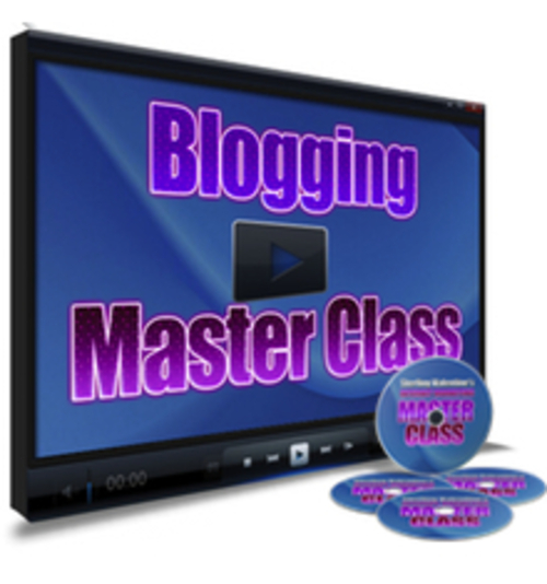 Product picture Blogging Master Class Video Tutorial