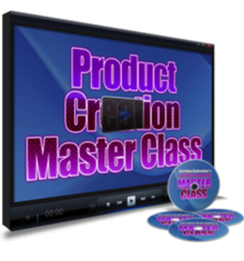 Product picture Product Creation Master Class Video Tutoria