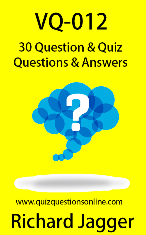 Product picture VQ-012 - 30 Question Quiz From My Popular YouTube Channel