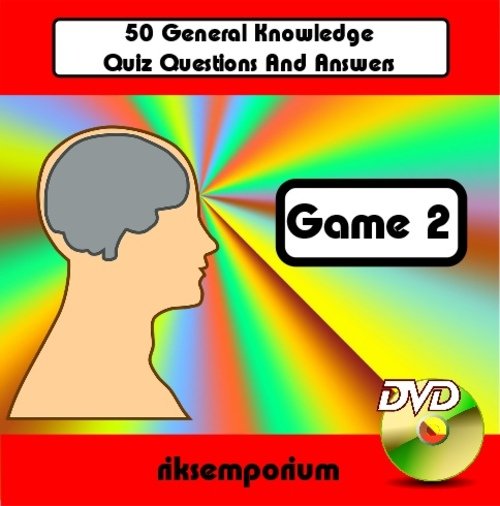 Product picture 50 Question & Answer Trivia DVD Quiz - Game 2